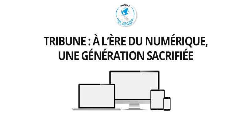 Tribune : à l'ère du numérique, une génération sacrifiée