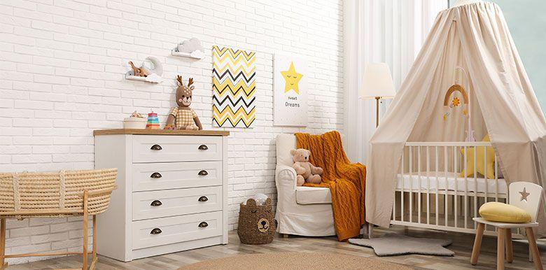 Mobilier : les 10 indispensables pour la chambre de bébé