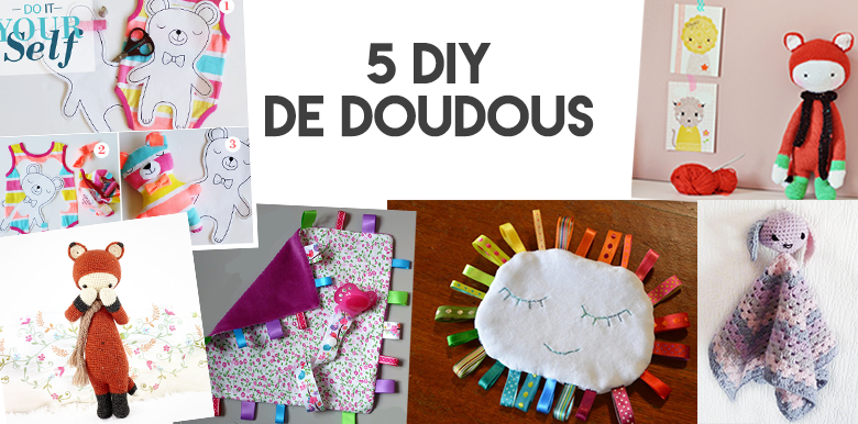 5 diy de doudou la bo te rose. Black Bedroom Furniture Sets. Home Design Ideas