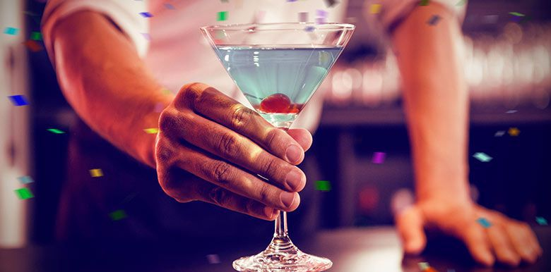 Cocktails de réveillon de la Saint-Sylvestre sans alcool