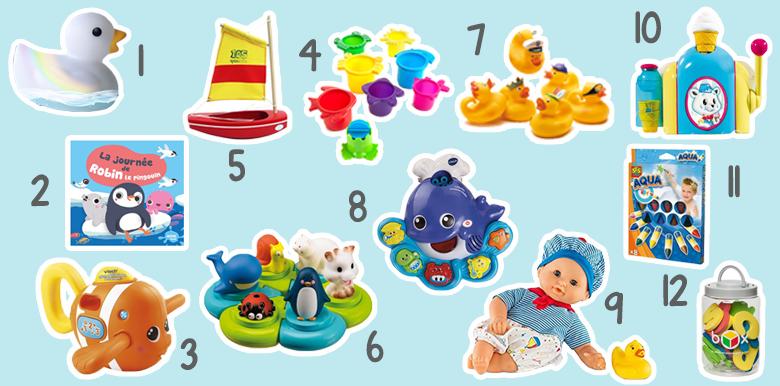 Les jouets de bain