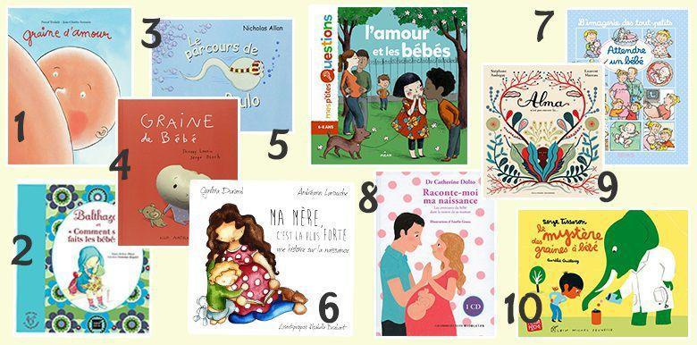 10 livres pour expliquer aux enfants comment naissent les bébés