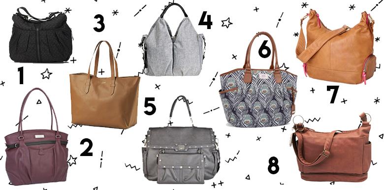 Sacs à langer : 8 sacs ultra modes à shoper !