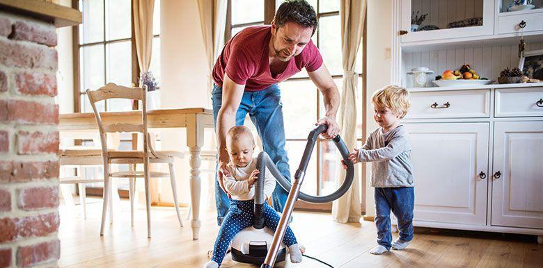 nettoyage de printemps : conseils pour faire du tri quand on a des enfants