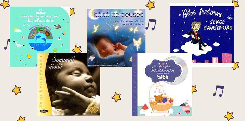 5 CD pour endormir bébé
