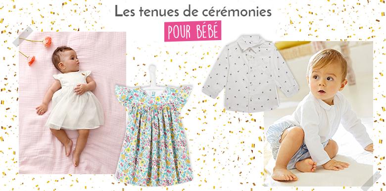Shopping : 10 tenues de cérémonie pour bébé totalement chic !