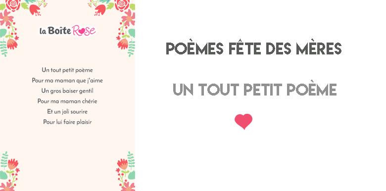 Un tout petit poème