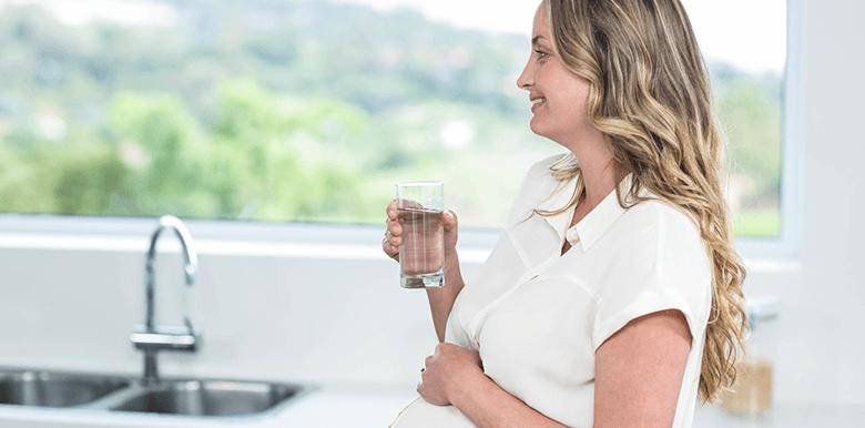 La rétention d'eau durant la grossesse ?