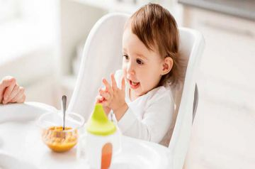 Image d'illustration pour l'article : L'alimentation spécifique des enfants de moins de 3 ans