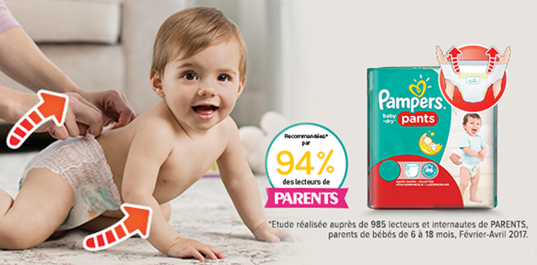 Couches-culottes : quand bébé grandit !