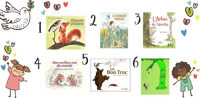 Livres pour enfant : notre sélection sur le thème de l'amitié