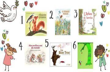 Image d'illustration pour l'article : Livres pour enfant : notre sélection sur le thème de l'amitié