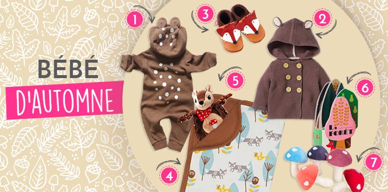 Mon bébé d'automne : sélection shopping pour petit renardeau !