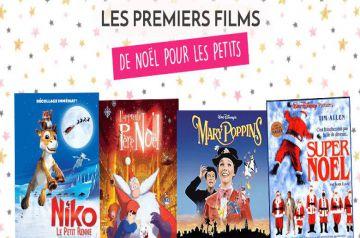 Image d'illustration pour l'article : Les premiers films de Noël pour les petits