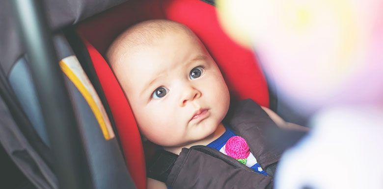 Partir en voiture avec un nouveau-né