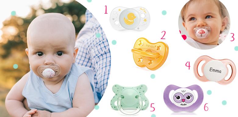 Où trouver de jolies tétines pour bébé ?