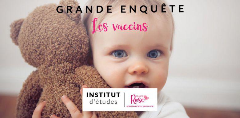 Enquête : la vaccination, l'avis des mamans