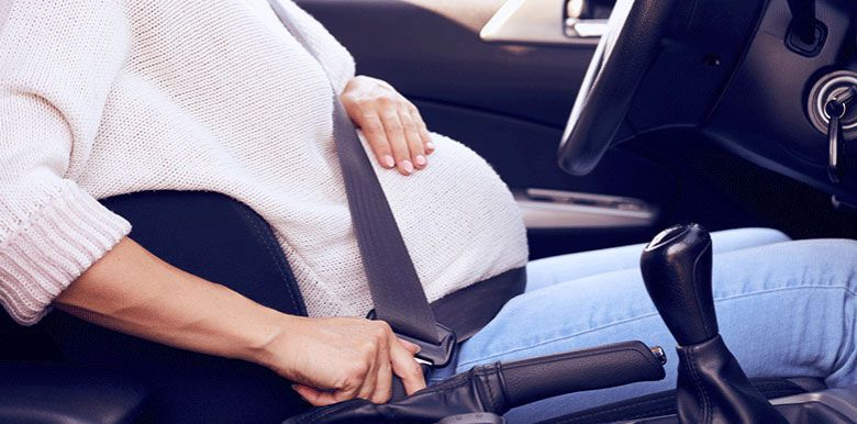 Voyager en voiture enceinte