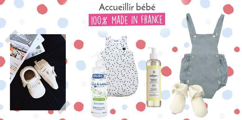 Shopping bébé 100% made in France