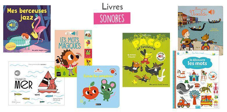 Petite sélection de livres à regarder… et à écouter !