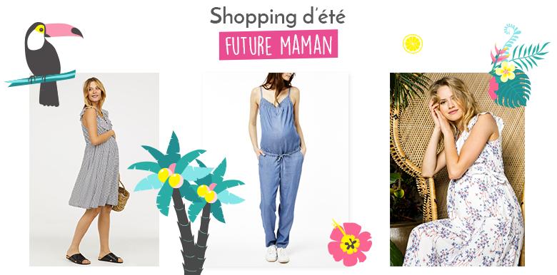Shopping : look d'été pour future-maman