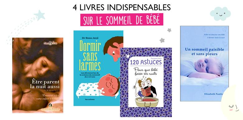 4 livres indispensables sur le sommeil de bébé