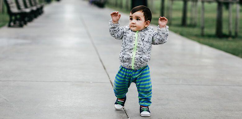 L'apprentissage de la marche : en route vers de nouveaux horizons !