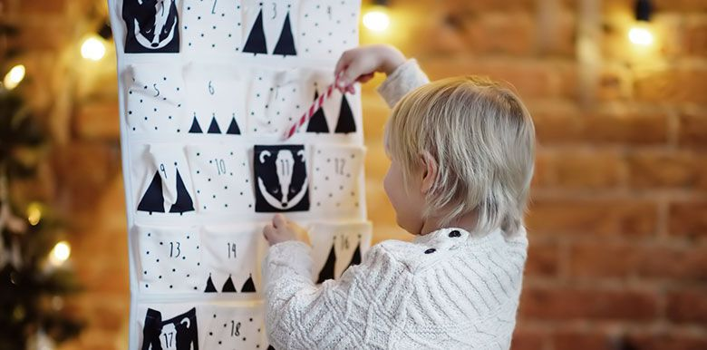 Idées de calendriers de l'Avent pour tout-petits 0-2 ans