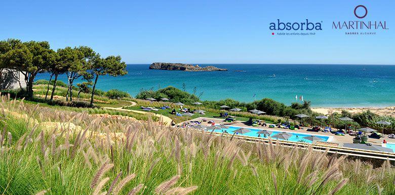Martinhal Sagres, le lieu idéal pour vos premières vacances avec bébé, en partenariat avec Absorba
