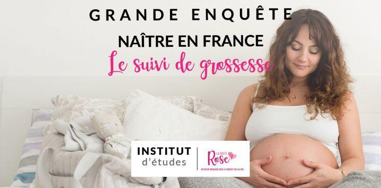 Etude Naître en France : le suivi de grossesse