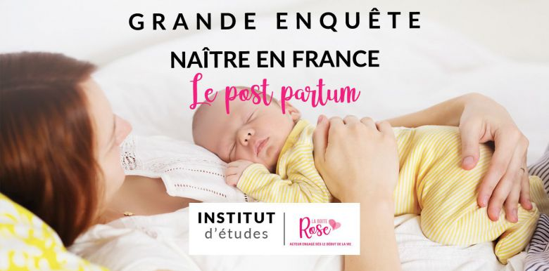 Etude Naître en France :  La perception du post-partum