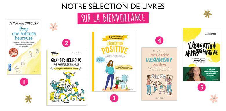 5 livres sur l'éducation positive