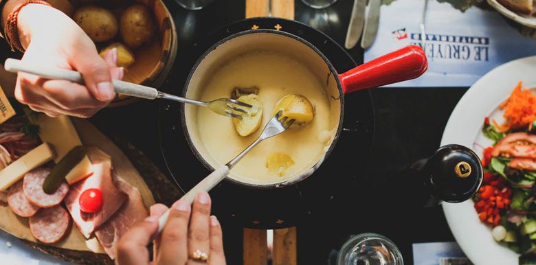raclette fondue grossesse