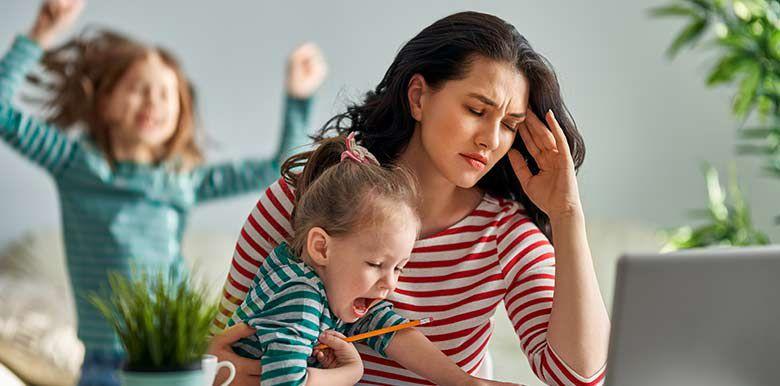 10 phrases qui font du bien à une mère épuisée