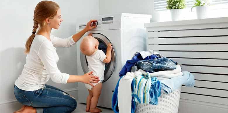Laver le linge de Bébé