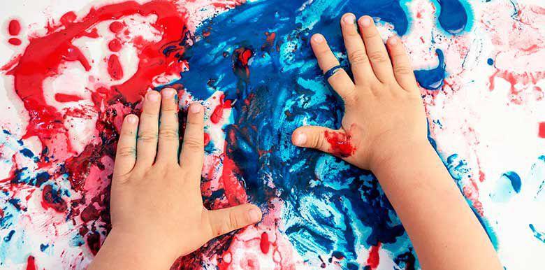 recette peinture maison enfant comestible