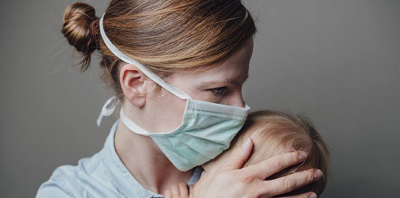 tout savoir sur le port du masque avant et après l'accouchement coronavirus covid-19