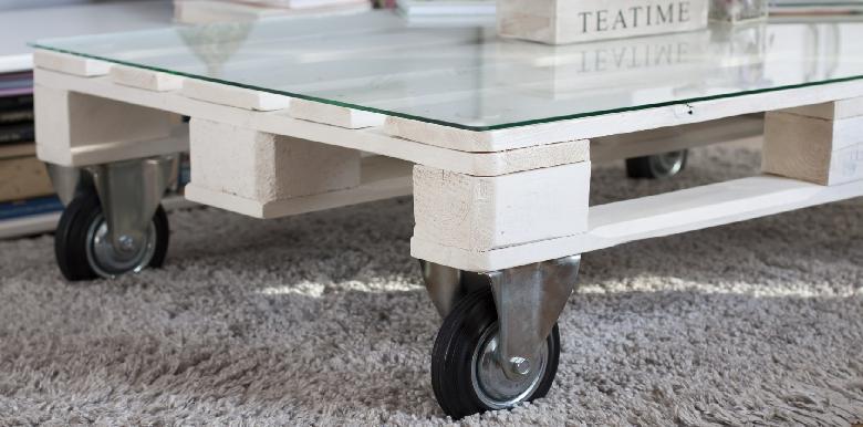 Faire une table basse... avec des palettes !