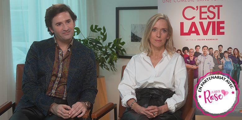 """Film """"C'est la Vie"""" : retrouvez l'interview exclusive de Léa Drucker et Nicolas Maury"""