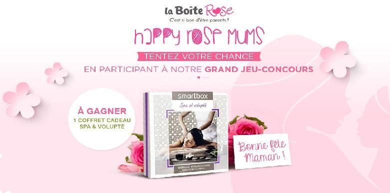 Grand jeu Happy Rose Mum's : Bonne fête des mamans !