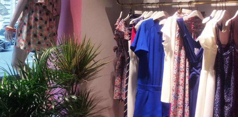 Combishorts et petites robes liberty pour cet été
