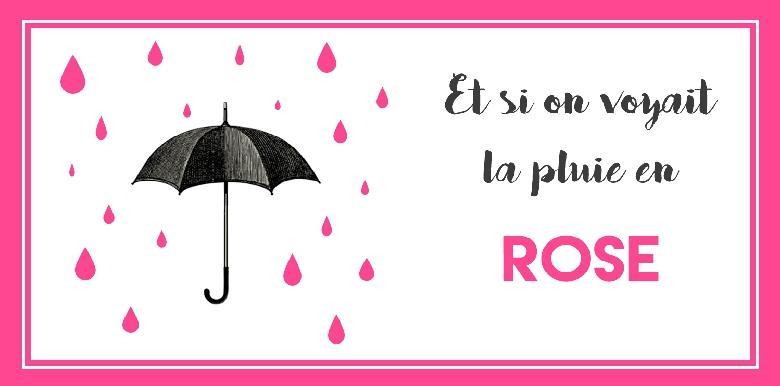10 chansons à écouter pour voir la pluie en rose !