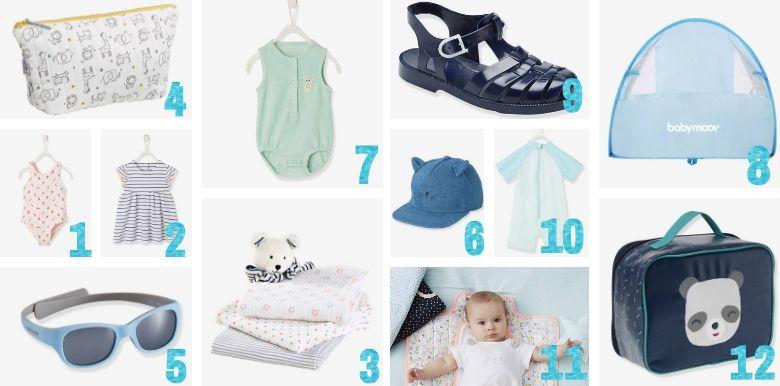 Sélection shopping : les indispensables de l'été pour bébé