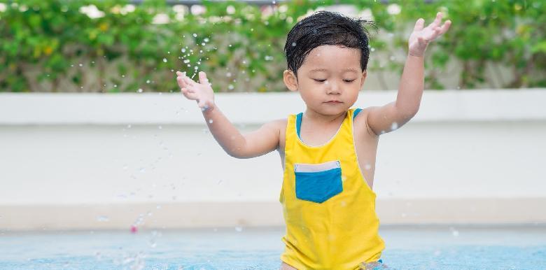 Mon enfant a peur de l'eau