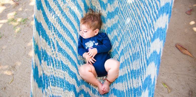 Le sommeil de bébé pendant les vacances