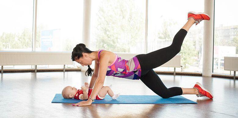 Le sport après la grossesse