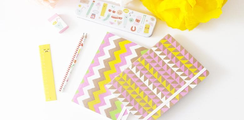 Les carnets customisés de Pink et cetera