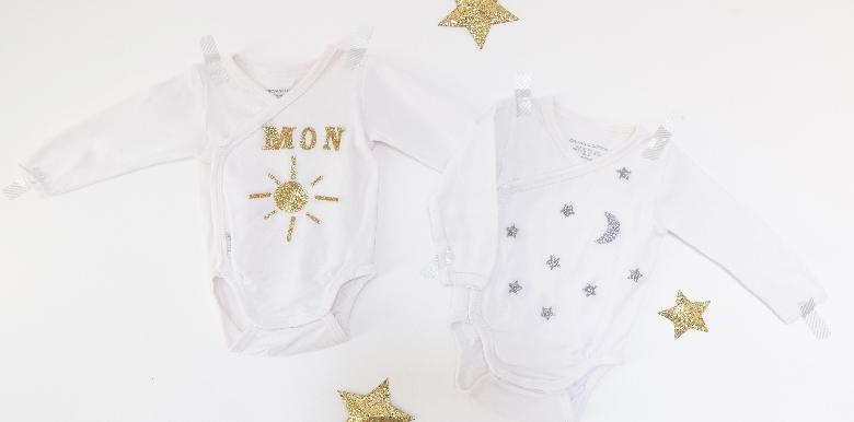 DIY : Customiser les bodies de bébé