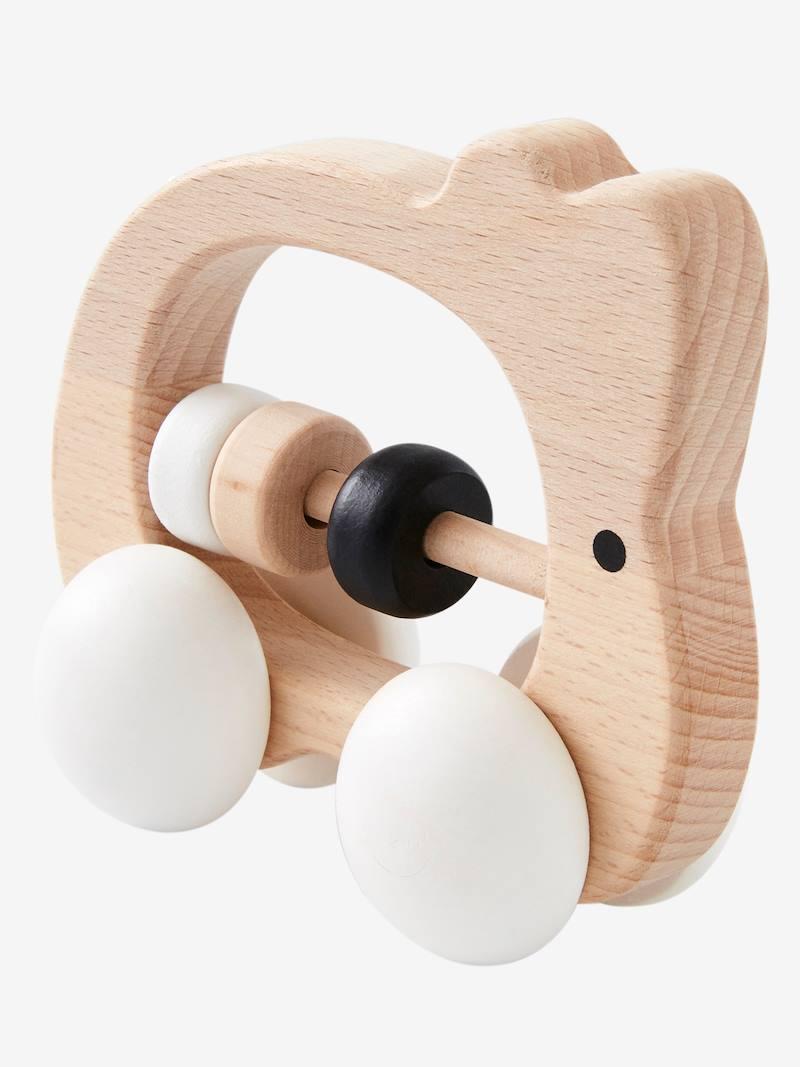 Hochet boulier lapin en bois